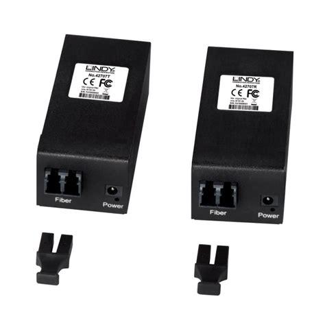 Usb Extender 1 Meter 400m fibre optic usb 3 1 gen1 extender from lindy uk