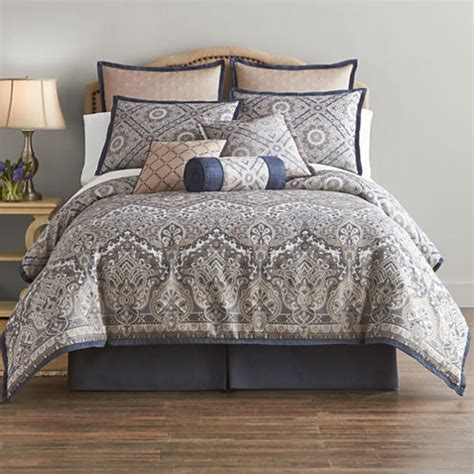 jcpenney king comforter sets home expressions newport 7 pc comforter set jcpenney