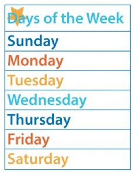 printable board games days of the week 85 best kids learning days of the week months of the