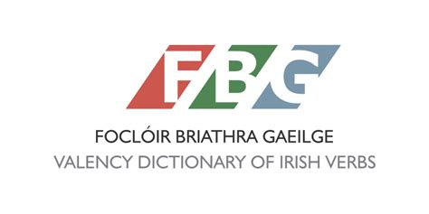pattern dictionary of english verbs focl 243 ir briathra gaeilge 183 valency dictionary of irish verbs