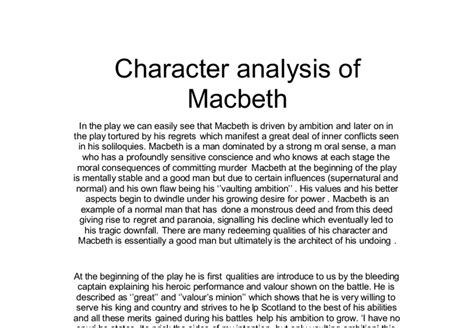 the themes of macbeth essay macbeth critical essay macbeth essays on themes academic