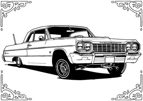 lowrider truck coloring page 17 best images about lowriders on pinterest chevy posts