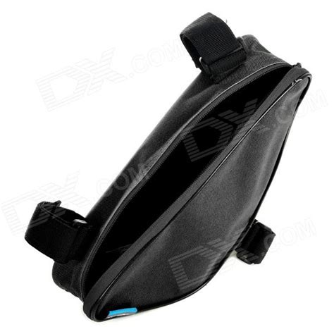 Bicycle Storage Bag Black roswheel triangle shape bike zipper polyester storage bag