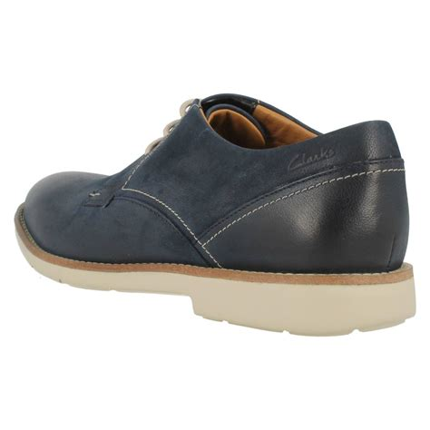 mens clarks smart casual shoes raspin plan ebay