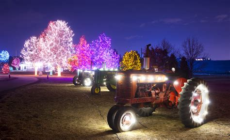chatfield botanic gardens christmas lights 10 most festive cities in the us for the voyaging