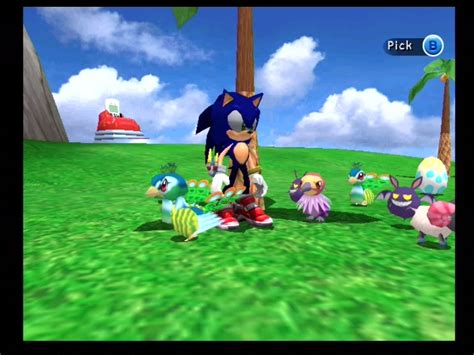 Sonic Chao Garden by Captain Williams Co Uk Sonic Adventure 2 Feature Dreamcast Screenshots