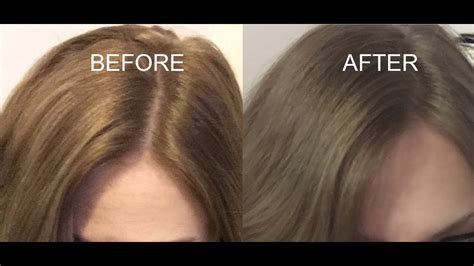 how to color out of hair how to tone brassy hair