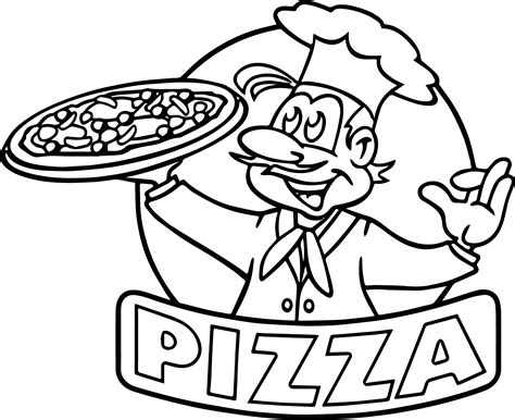 pizza coloring pages preschool cartoon picture of pizza coloring page wecoloringpage