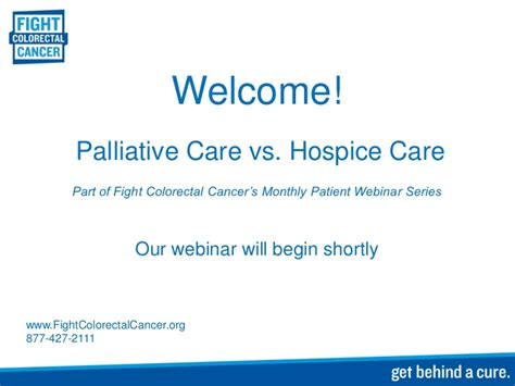 palliative vs hospice images