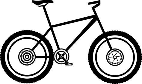 Sepeda Simple Bicycle mtb bike mountain bike 183 free vector graphic on pixabay