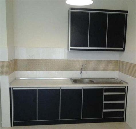 Single Wall Kitchen Cabinets Simple One Wall Kitchen Cabinet