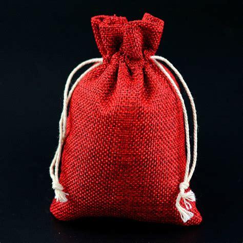Wedding Favor Drawstring Bags by Jute Hessian Drawstring Pouch Burlap Wedding Favor