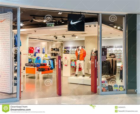 athletic shoe stores nike store editorial image image 34294375