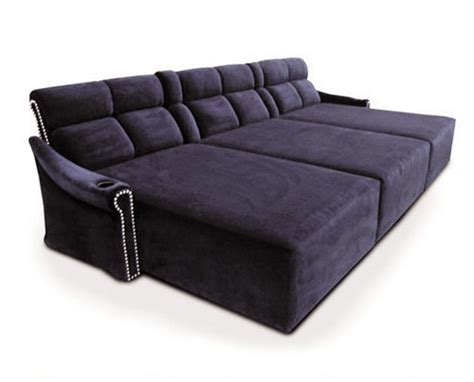 media couch fortress cinema seating lounges chaises furniture at