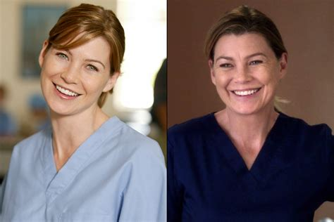 grey s anatomy chief actor grey s anatomy cast then and now photos people