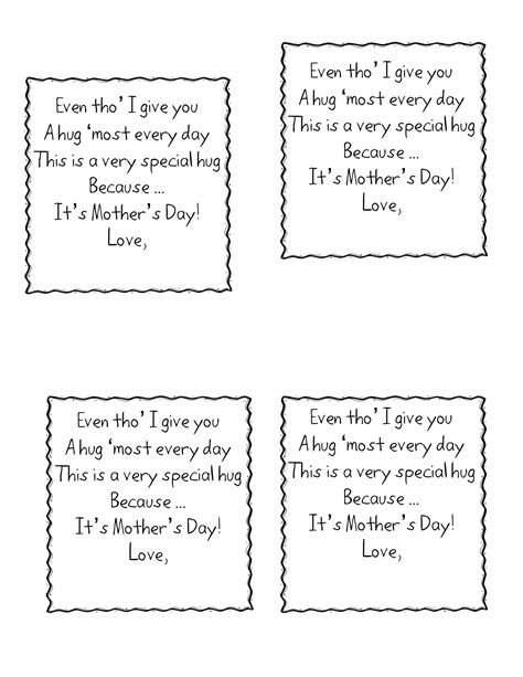 simple s day card activities with templates for 6th graders grandparents day kindergarten nana