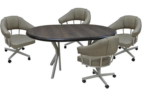 dinette table and chairs with casters tobias m90 caster chair with formica table dinettes