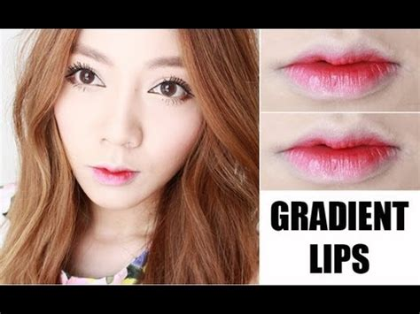 korean lips makeup tutorial korean gradient lips tutorial youtube