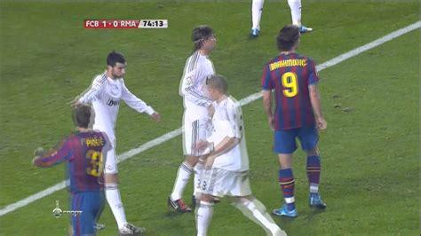 Real Madrid 09 zlatan ibrahimovic vs real madrid home 09 10 hd 720p