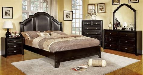 Bedroom Furniture Bristol Cm7686 Bristol Bedroom In Espresso W Optional Casegoods