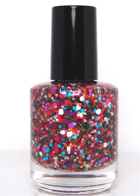 Glitter Nail Polishes by Madness Is Catching Custom Glitter Nail In