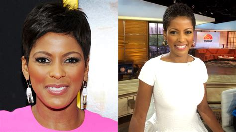 tamron hall haircut today tamron hall natural hair see her wear it on tv for the