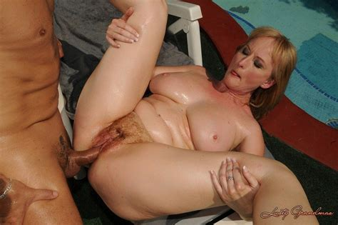 Lusty Grandma With A Hairy Pussy Fucked Outdoors Pichunter