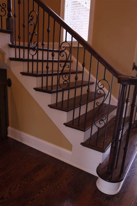 wrought iron stair railing wrought iron railing exterior mediterranean with arches