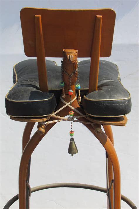 vintage moroccan bar height camel stools at 1stdibs