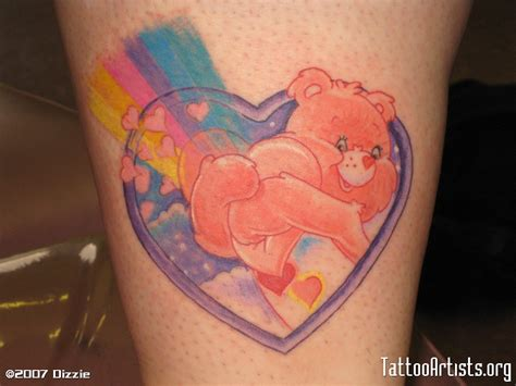 care bear tattoos care artists org