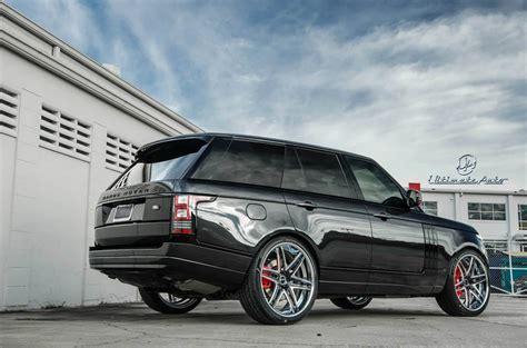 range rover 24 wheels ultimate auto puts the 2013 range rover on 24 quot vellano