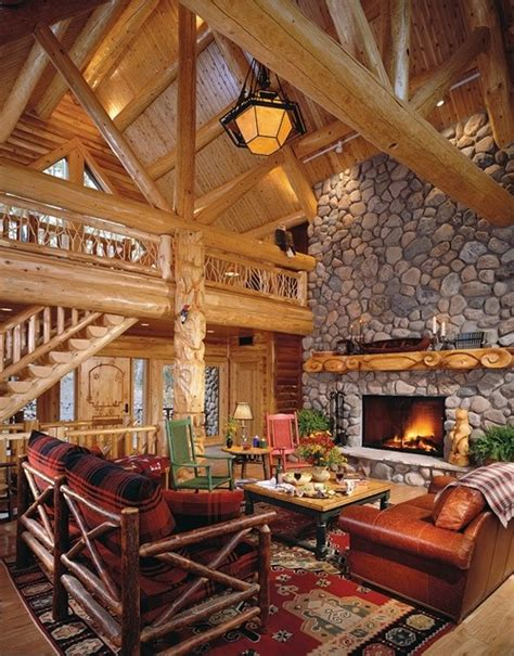 interior pictures of log homes finished cedar interior breathtaking log home ideas