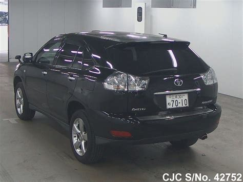toyota harrier 2008 2008 toyota harrier black for sale stock no 42752