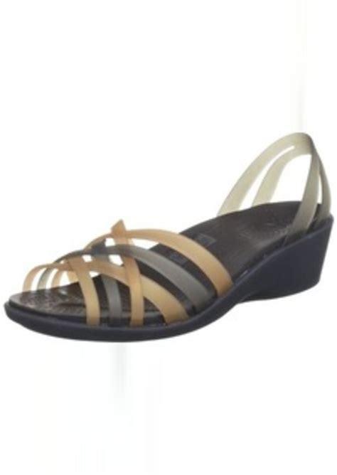 On Sale Crocs Mini Wedge 4cm crocs crocs s huarache mini wedge shoes shop it