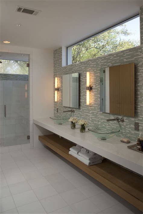 Modern Bathroom Windows Contemporary Bathroom Ideas