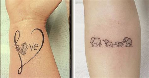 tattoos for your child 11 tattoos to show your for your that are more