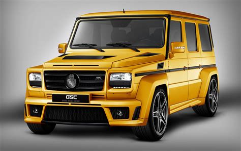 The New Black Gold Mercedes Benz G Class By Tuner Gsc