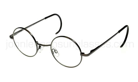lennon reading glasses curly cable gunmetal m