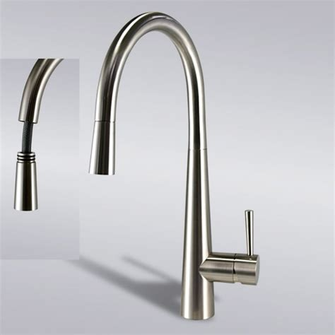 brushed nickel pull out kitchen faucet in usa and canada