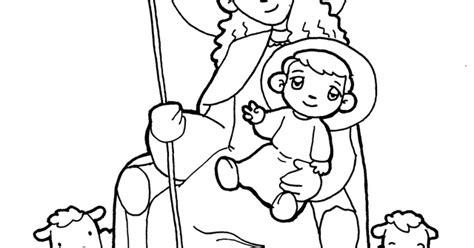 imagenes de virgen la pastora para colorear divina pastora la catequesis el blog de sandra recursos catequesis