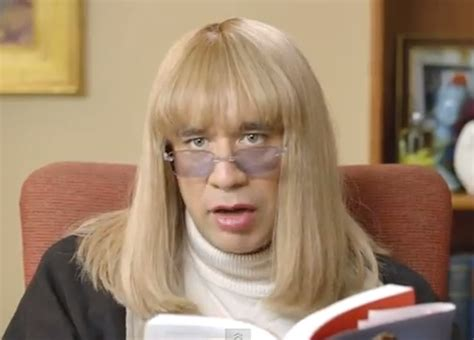 fred armisen dresses in drag to play penny marshall to