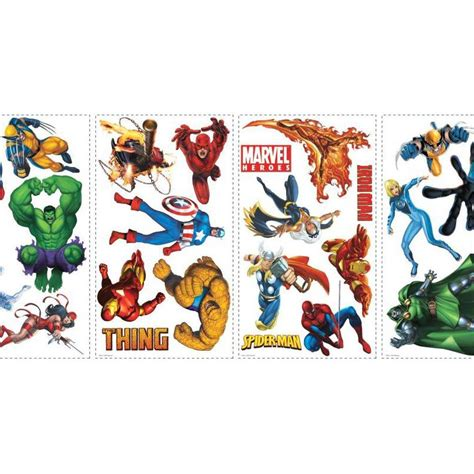 marvel heroes wall stickers marvel heroes wall stickers interiordecorating