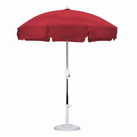 5 Ft Patio Umbrella 7 5 Foot Patio Umbrella With Push Button Tilt Other Structures Shade