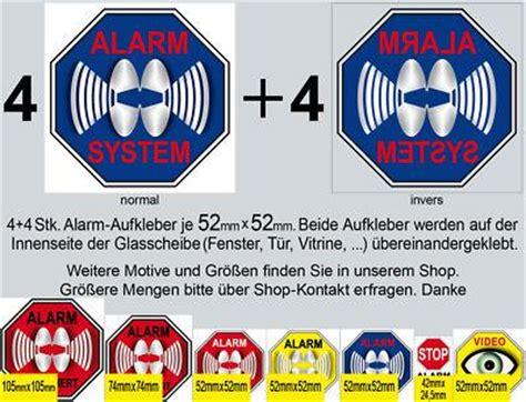 Vw Alarmanlage Aufkleber by Aufkleber Alarm G 252 Nstig Sicher Kaufen Bei Yatego
