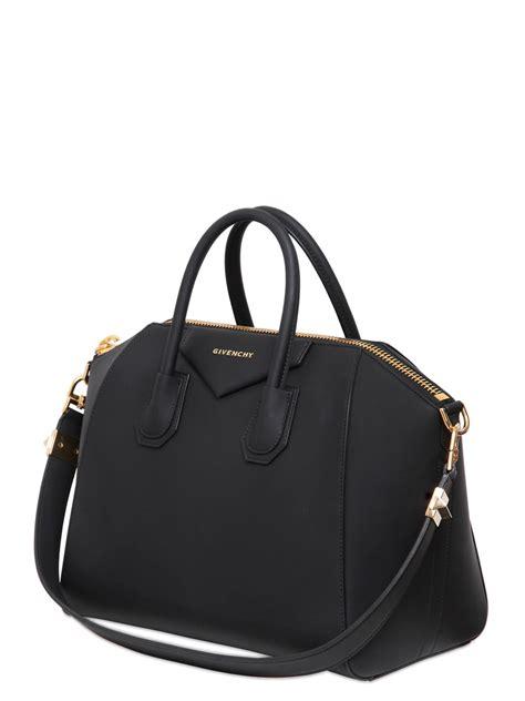 Givenchy Antigona Black Hardware 1 givenchy medium antigona rubber effect bag in black lyst