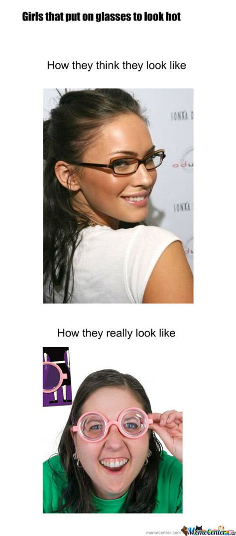 Girl With Glasses Meme - i really love girls with glasses memes best collection of