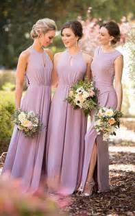 Bridesmaids Dressers by Trend We High Neckline Bridesmaid Dresses