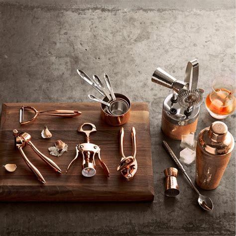 Copper Bar Accessories Copper Y Vegetable Peeler Williams Sonoma