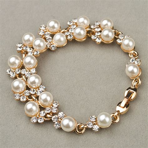 Beautiful Bracelet the gallery for gt beautiful pearl bracelets for