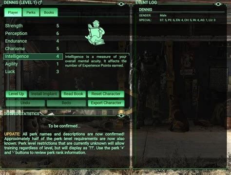 calculator game level 24 fallout 4 hype builds with this character perk calculator site